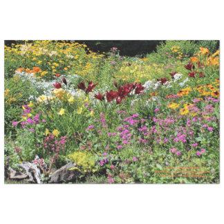 De kleurrijke Medio Tuinen van de Zomer! Tissuepapier