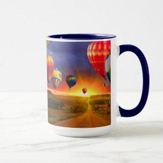 De kleurrijke Mok van de Kop van de Koffie van de