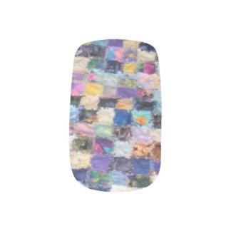 De kleurrijke Overdrukplaatjes van de Spijker van Minx Nail Art