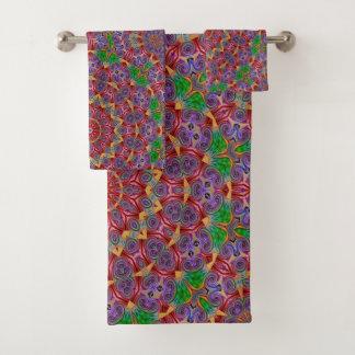 De kleurrijke Reeks van de Handdoek van de