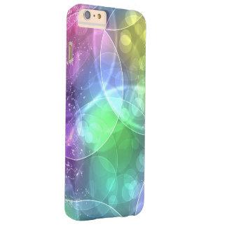 de kleurrijke regenboog omcirkelt vectorart. iPhone 6 plus barely there hoesje