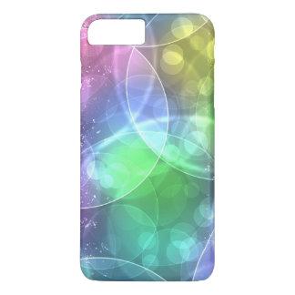 de kleurrijke regenboog omcirkelt vectorart. iPhone 7 plus hoesje