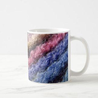 De kleurrijke Regenboog van het Garen Koffiemok