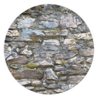 De kleurrijke Rotsachtige Muur van de Natuur van Melamine+bord