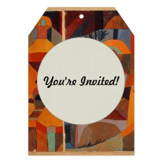 De kleurrijke Samenvatting van Paul Klee van het Aankondigingen
