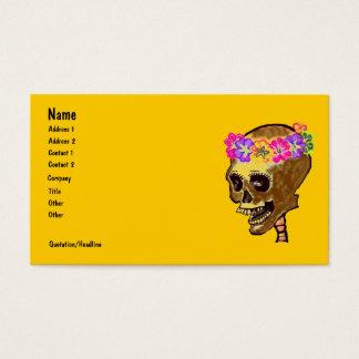 De kleurrijke Schedel van het Skelet Visitekaartjes