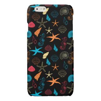 De kleurrijke Schepselen van het Zee iPhone 6 Hoesje Glanzend