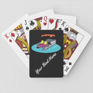 De kleurrijke Speelkaarten van de Boot van het