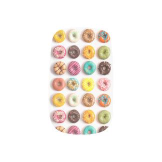 De kleurrijke Spijkers van de Doughnut Minx Nail Folie