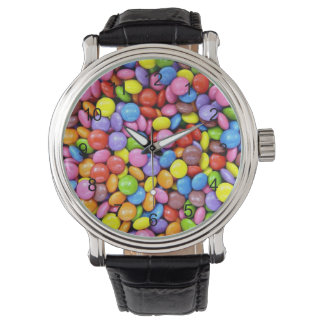 De kleurrijke Stukken van het Snoep Horloges