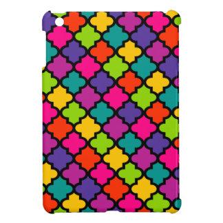 De kleurrijke Tegel van de Dekking van het Hoesje  iPad Mini Case