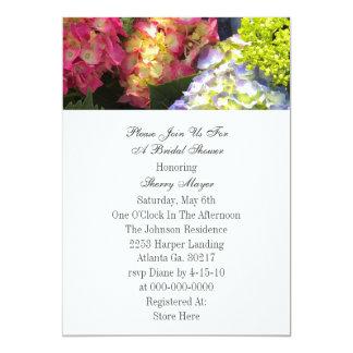 De kleurrijke Uitnodigingen van de Hydrangea