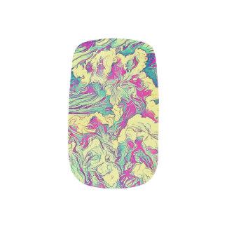 De kleurrijke Verf van de Regenboog ploetert de Minx Nail Art
