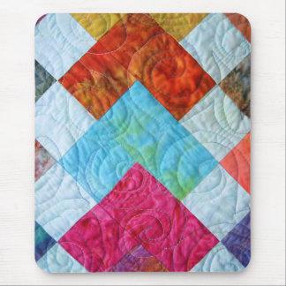 De kleurrijke Vierkanten van het Dekbed van de Muismat