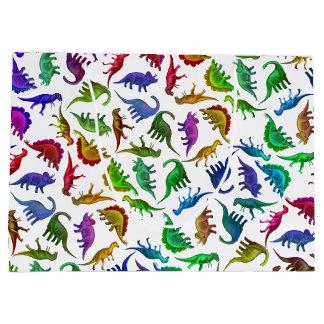 De kleurrijke Voorhistorische Zak van de Gift van Groot Cadeauzakje