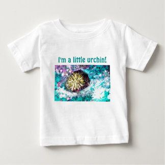 De kleurrijke Zeeëgel van het Koraalrif Baby T Shirts