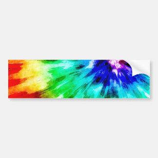 De Kleurstof van het stropdas ontmoet Waterverf Bumpersticker