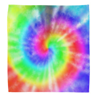 De Kleurstof van het Stropdas van de regenboog Bandana