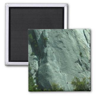 De Klimmers van de rots op Gr Capitan Magneet