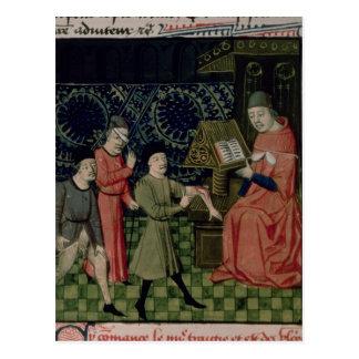 De kliniek van de Chirurg, door Guy DE Chauliac Briefkaart