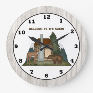 De klok van de de pretmuur van de Cabine van het