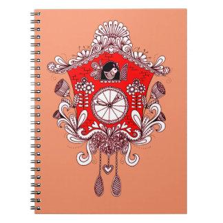 De Klok van de koekoek Ringband Notitieboek