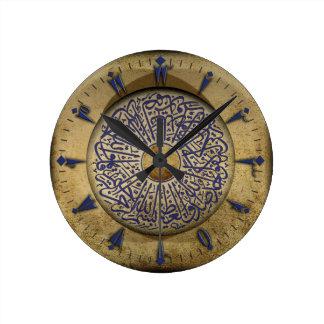 De Klok van de muur met Turkse Kalligrafie & Oud