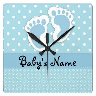 Baby jongen klokken baby jongen muur klokken - Room muur van de baby ...