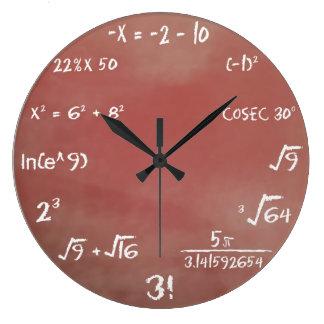 De Klok van de Muur van de Quiz van wiskunde