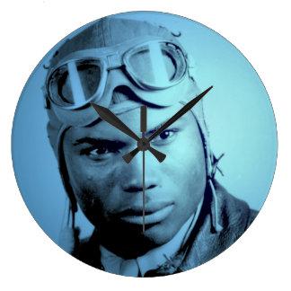 De Klok van de Muur van de Vliegers van Tuskegee