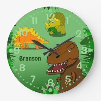 De Klok van de Muur van dinosaurussen voor Kind