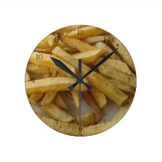 De Klok van de Muur van frieten