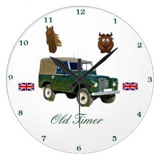 De Klok van de Muur van Land Rover