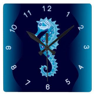 De Klok van de Muur van Seahorse van Aqua