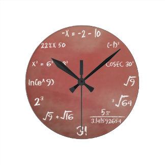 De Klok van de Quiz van wiskunde - Bruin Middel