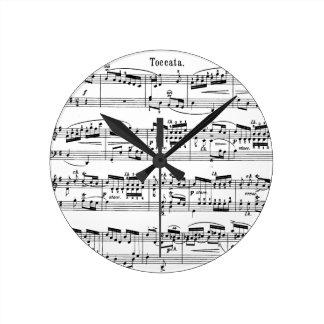 De Klok van de Score van de muziek