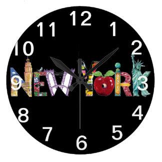 De klok van de Stad van New York