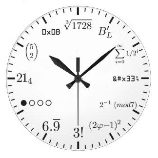De Klok van de wiskunde v1