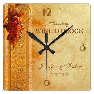 De Klok van het Huwelijk van Uur van de wijn