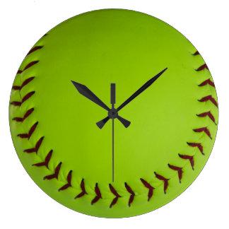De klok van het softball