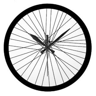 De klok van het Wiel van de fiets (2D gedrukte