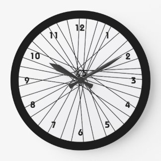 De klok van het Wiel van de fiets met aantallen