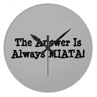 """De Klok van Miata: Het """"antwoord is altijd MIATA!"""
