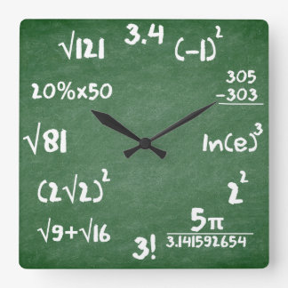 De Klok van wiskunde voor de Minnaars van de