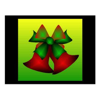 De Klokken van Kerstmis Briefkaart