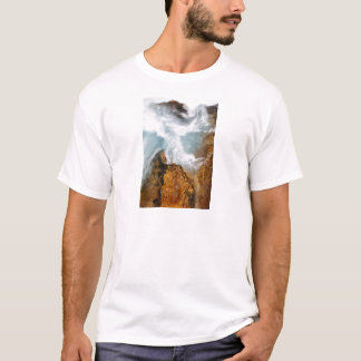 De kloof van Soteska Vintgar in de Herfst T Shirt