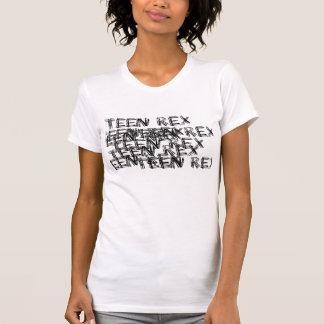 de klopper van tiener rex dames tshirt