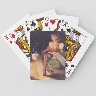De knallende Speld van het Graan omhoog Pokerkaarten