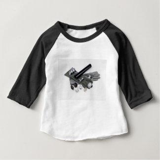 De Knalpot van het Ontstoringsapparaat van het Baby T Shirts