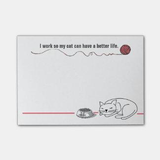 De knappe Nota's van de Post-it van de Humor van Post-it® Notes